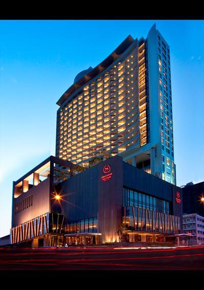 Đá Marble trong các công trình lớn như khách sạn Sheraton