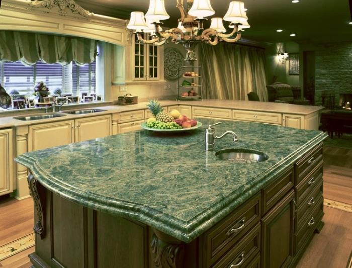 Đá marble xanh đẹp - độc - lạ. Điểm nhấn cho không gian Việt
